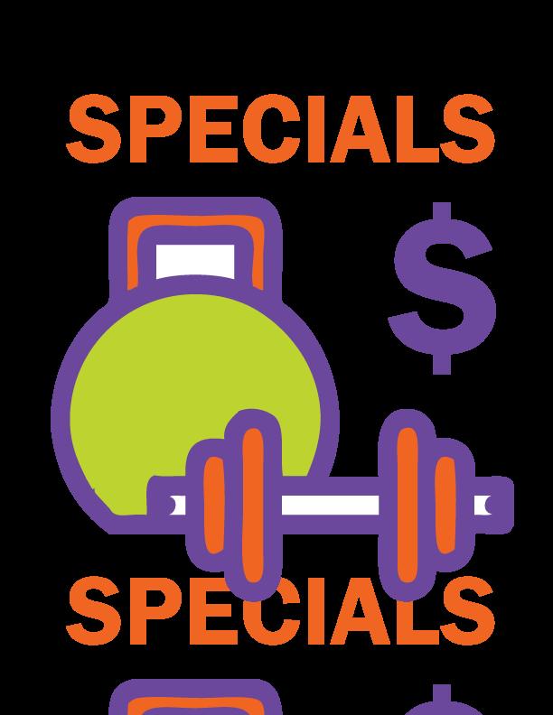 Fitness Specials